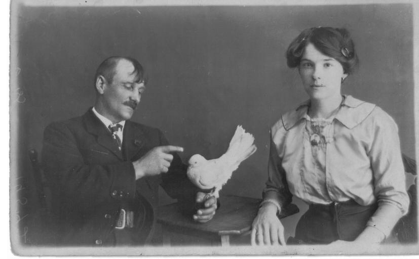 William James and Kate Maria Smith c1905